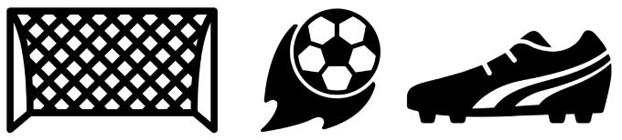 Fußball Icons Freepik