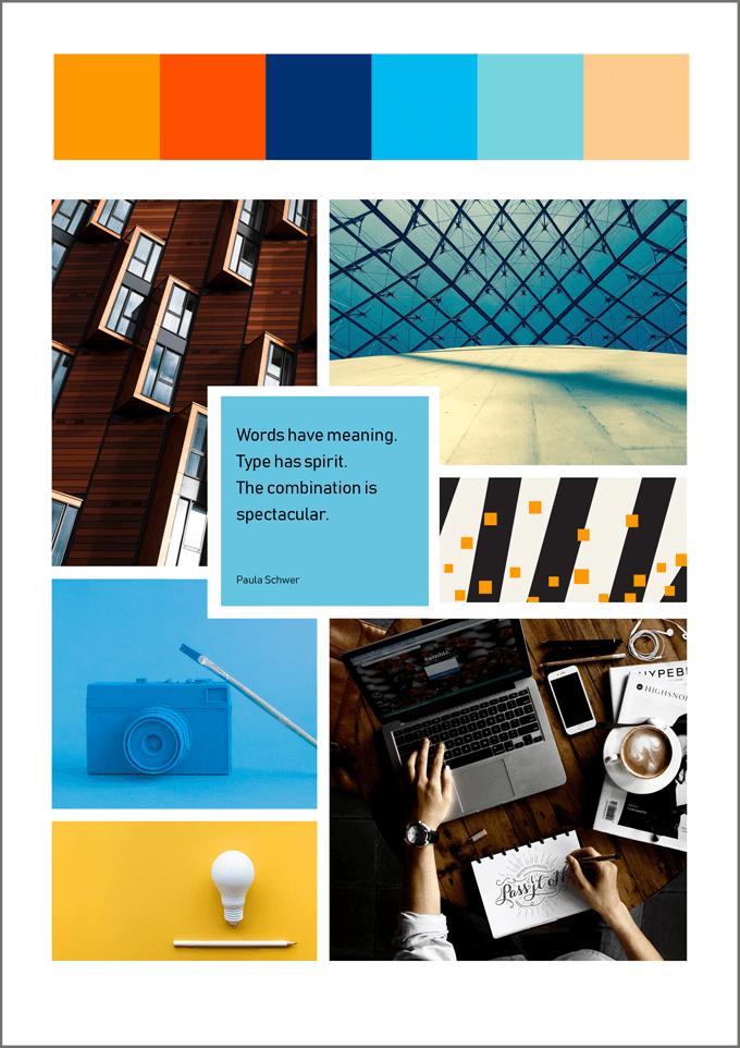 Moodboards: Design mit Inspirationsboost (inkl. Vorlagen)