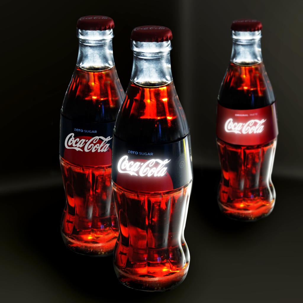 """Gewinner des Deutschen Verpackungspreises 2017 in der Kategorie """"Neues Material"""": Coca Cola mit leuchtenden OLED-Flaschenlabels"""