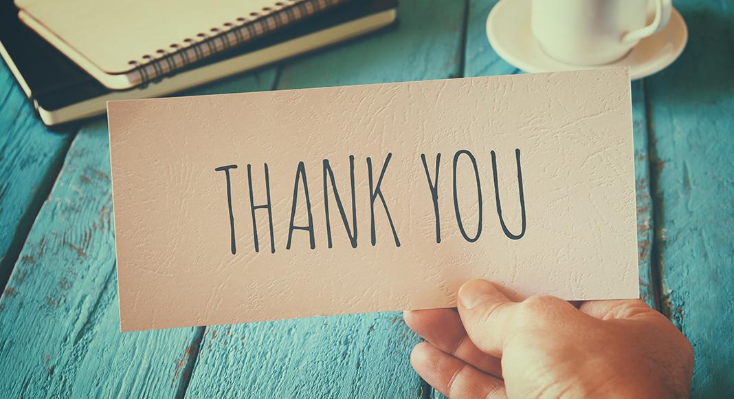 Dankschreiben nach dem Vorstellungsgespräch: So geht es