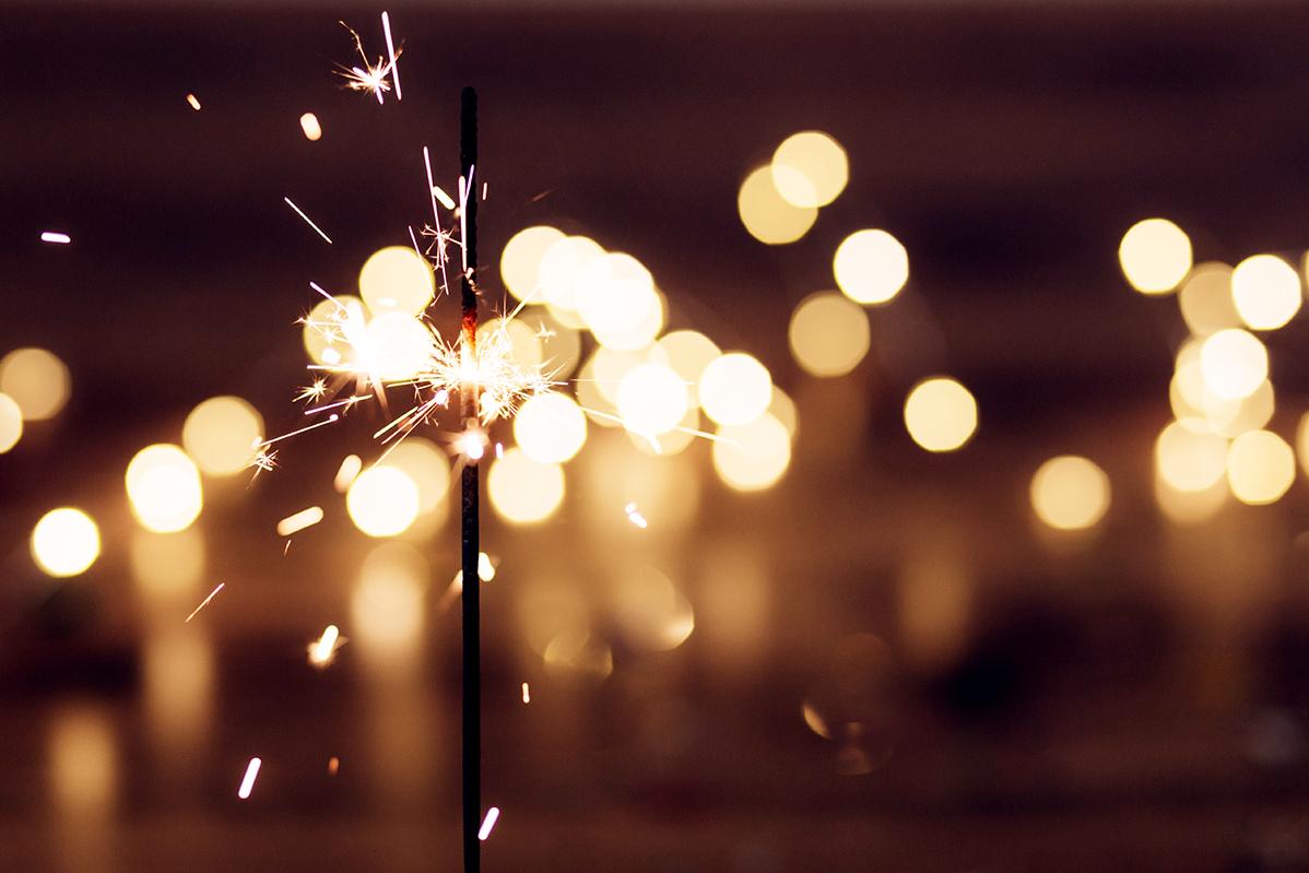 Neujahrswünsche – geschäftlich und mit persönlicher Note