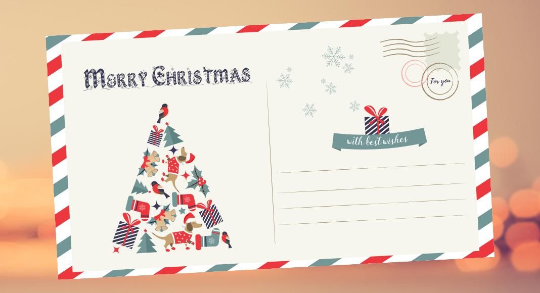 Weihnachtliche Schriftarten für Ihre Weihnachtsgrüße