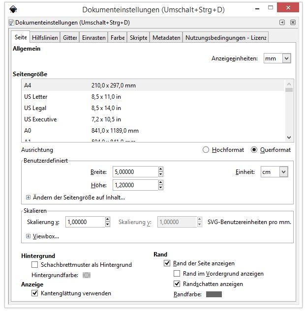 1 Dateigröße anpassen