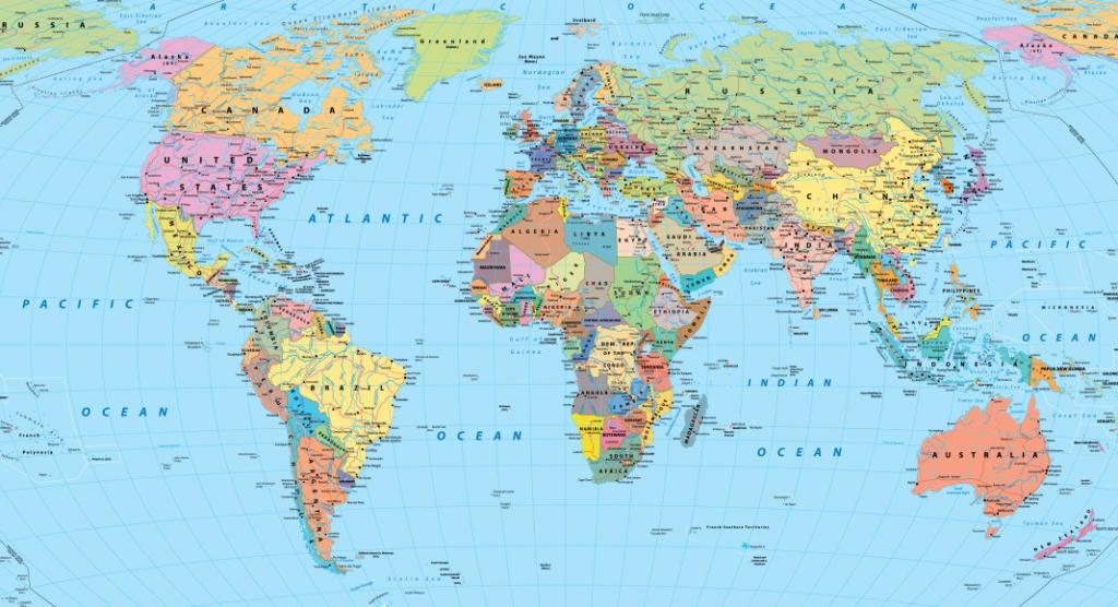 Kamera versichern Weltkarte