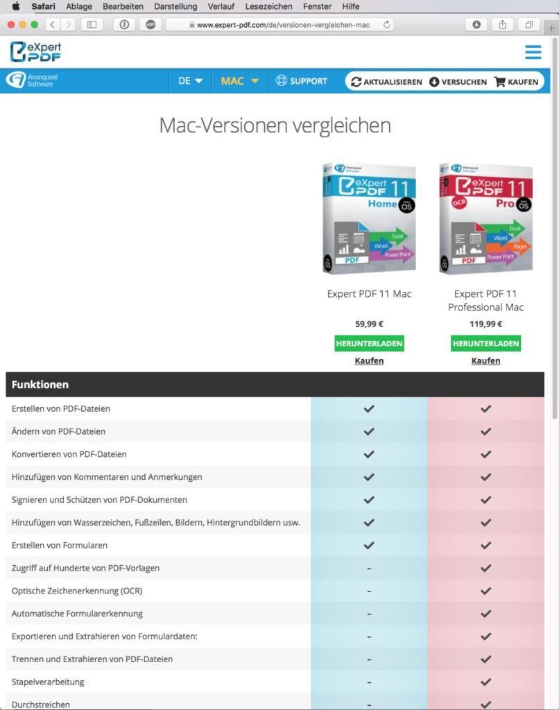 Online PDF Editor zum Bearbeiten von PDFs