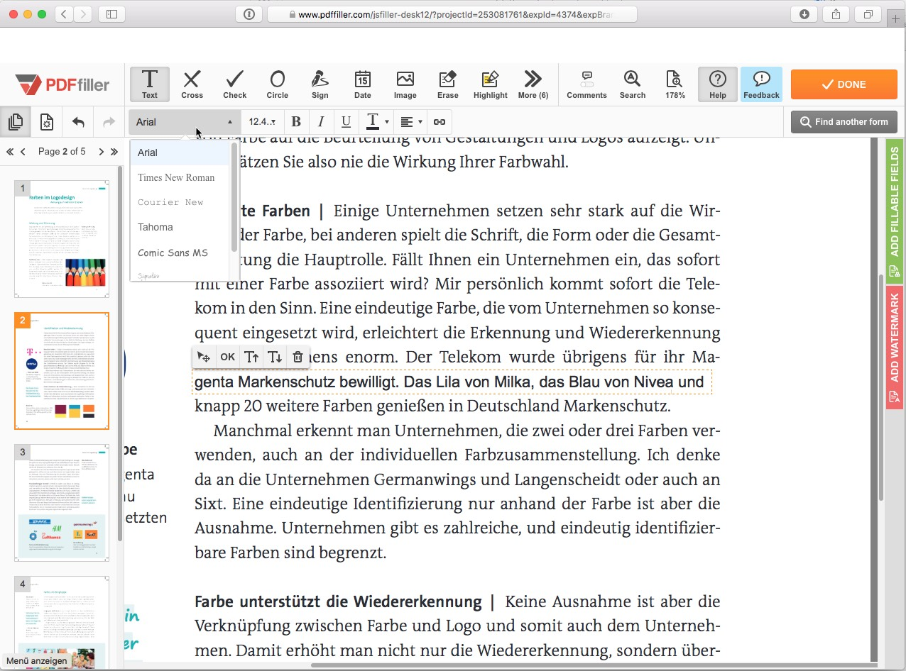 Online PDF Converter - Edit rotate and compress PDF files