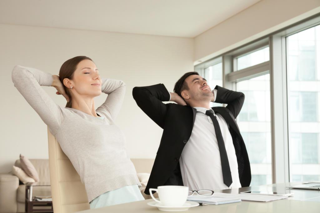 Ergonomie am Arbeitsplatz - Wohlfühlen