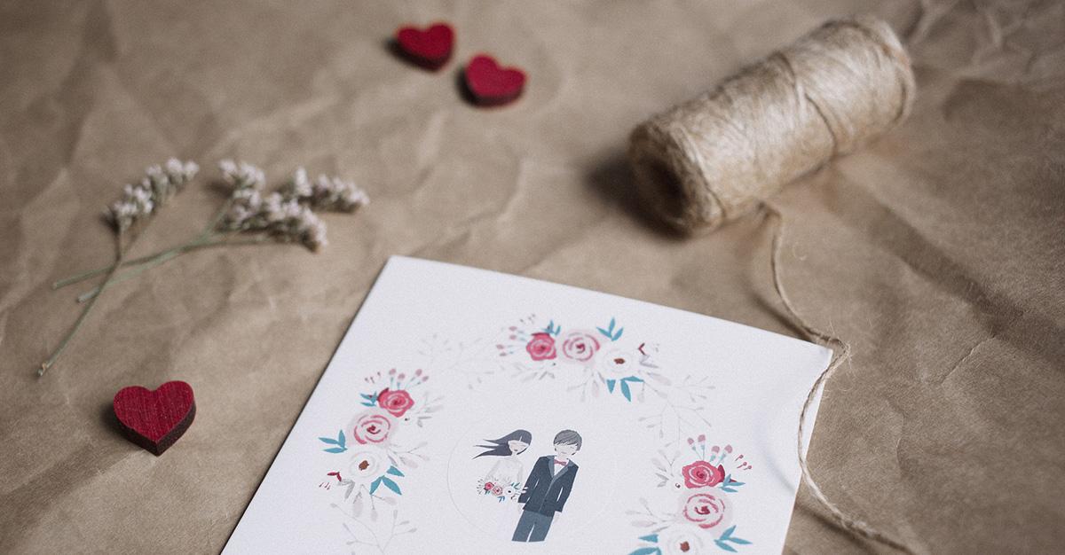 Die Passende Karte Fur Gluckwunsche Zur Hochzeit