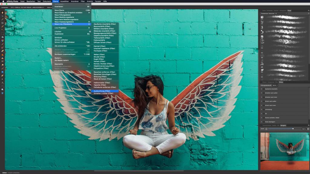 Live-Filterebenen-Affinity-Photo