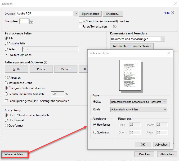 PDF-Format verkleinern