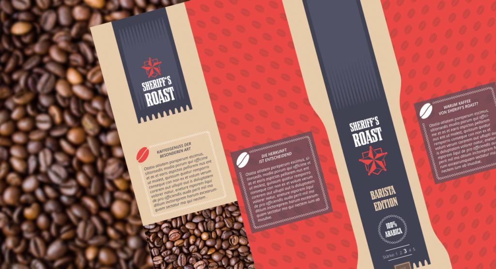 Produktverpackung Kaffee