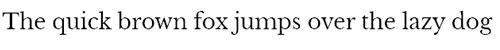 Times New Roman Schriftzug