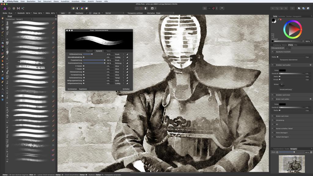 Affinity Photo Test Brushes