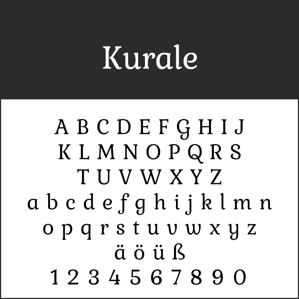 Serifenschriften: Kurale by Tipo