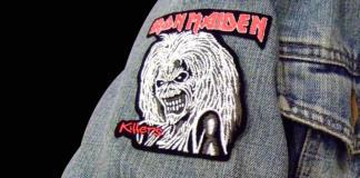 Iron-Maiden-Schrift Patch
