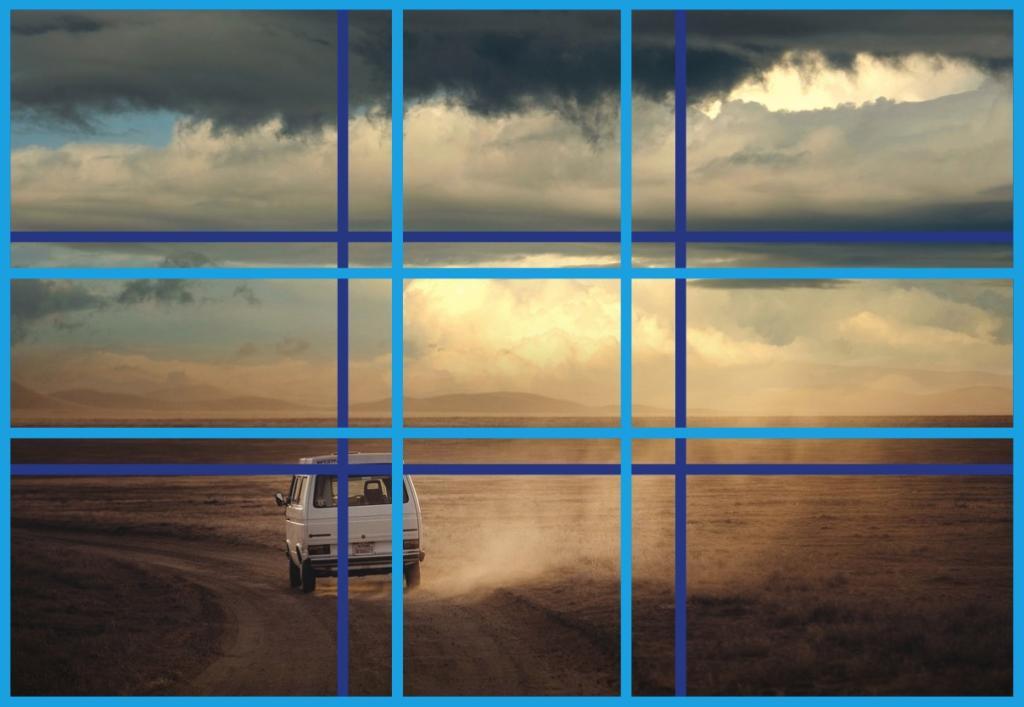 Ein Bild, das in etwa nach beiden Proportionsverhältnissen aufgenommen wurde.