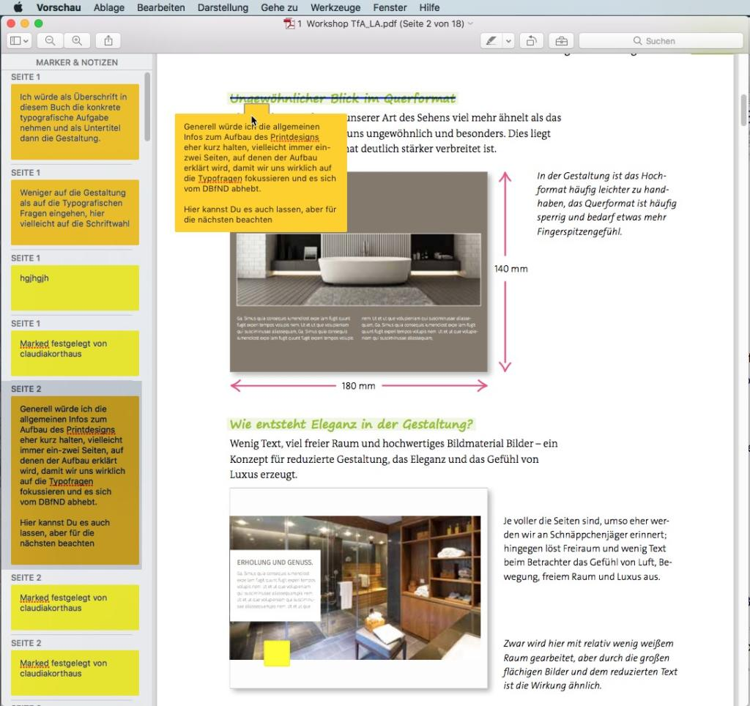 Wer einen Mac benutzt, kann dort PDFs schnell und ohne Zusatzsoftware öffnen