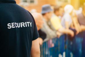 Sicherheit und Events