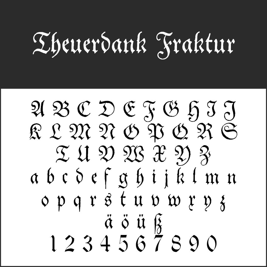 "Frakturschrift ""Theuerdank Fraktur"""