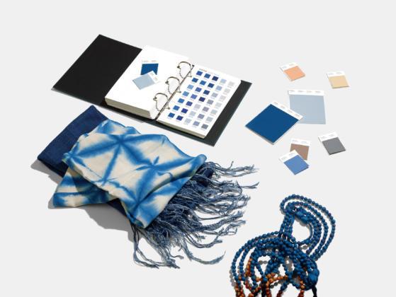 Classic Blue textilien