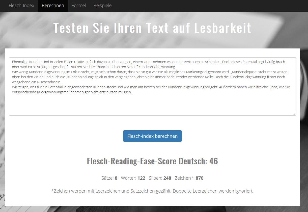 Textanalyse-Tools_Fleschindex