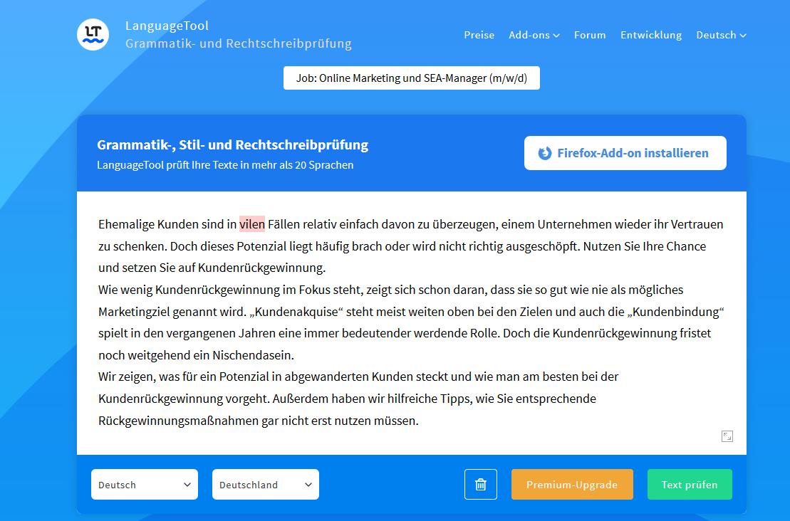 Textanalyse-Tools_LanguageTool