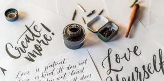 Beitragsbild_Kalligraphie-Schriftarten