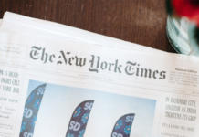 "Zeitung ""The New York Times"""