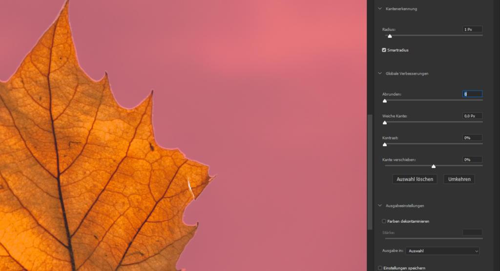 Photoshop Hintergrund transparent - Motiv freistellen