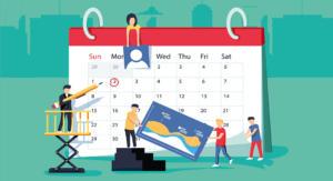 Festschrift Zeitplan