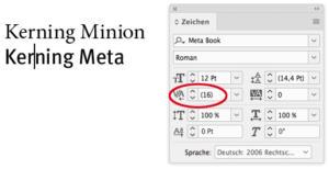 """Abstand bei """"Meta Book"""""""