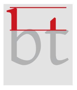 Typografie_Punzen_Oberlänge