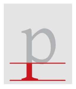 Typografie_Punzen_Unterlänge