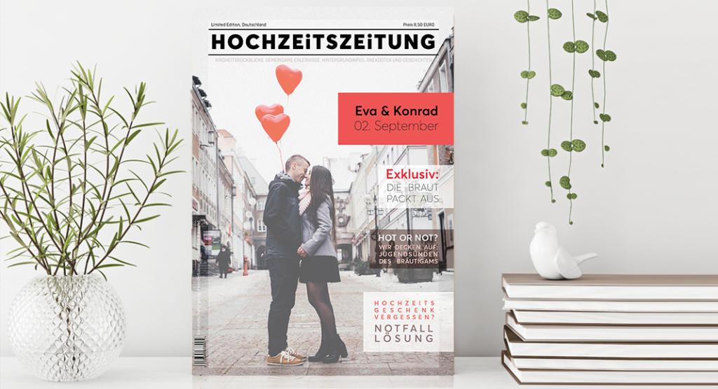 Die Hochzeitszeitung Inhalte Layout Tipps Fraulein K Sagt Ja 0