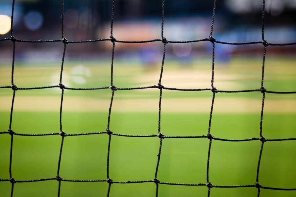 Netz eines Fußballtores