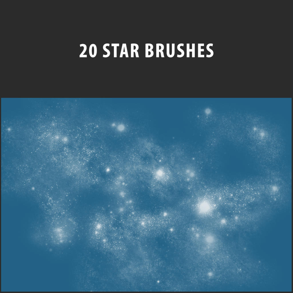 20-kostenlose-Photoshop-Brushes_Star-Brushset
