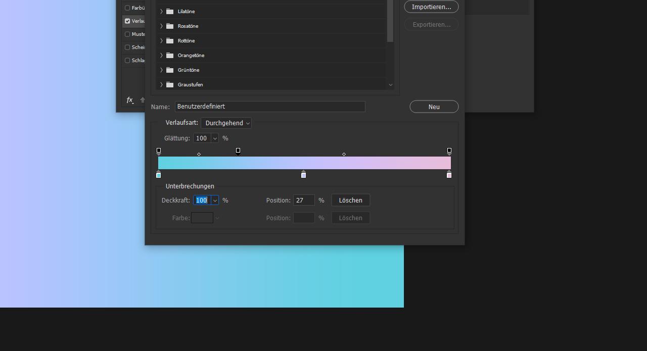 Photoshop Farbverlauf Bild_5