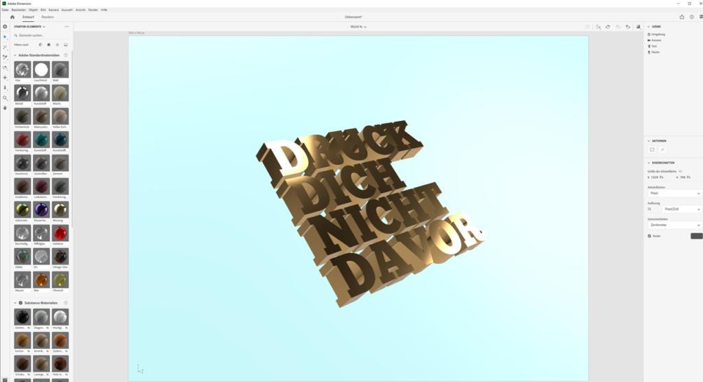 Farbe-und-Reflexionseigenschaften-definieren_Adobe-Dimension