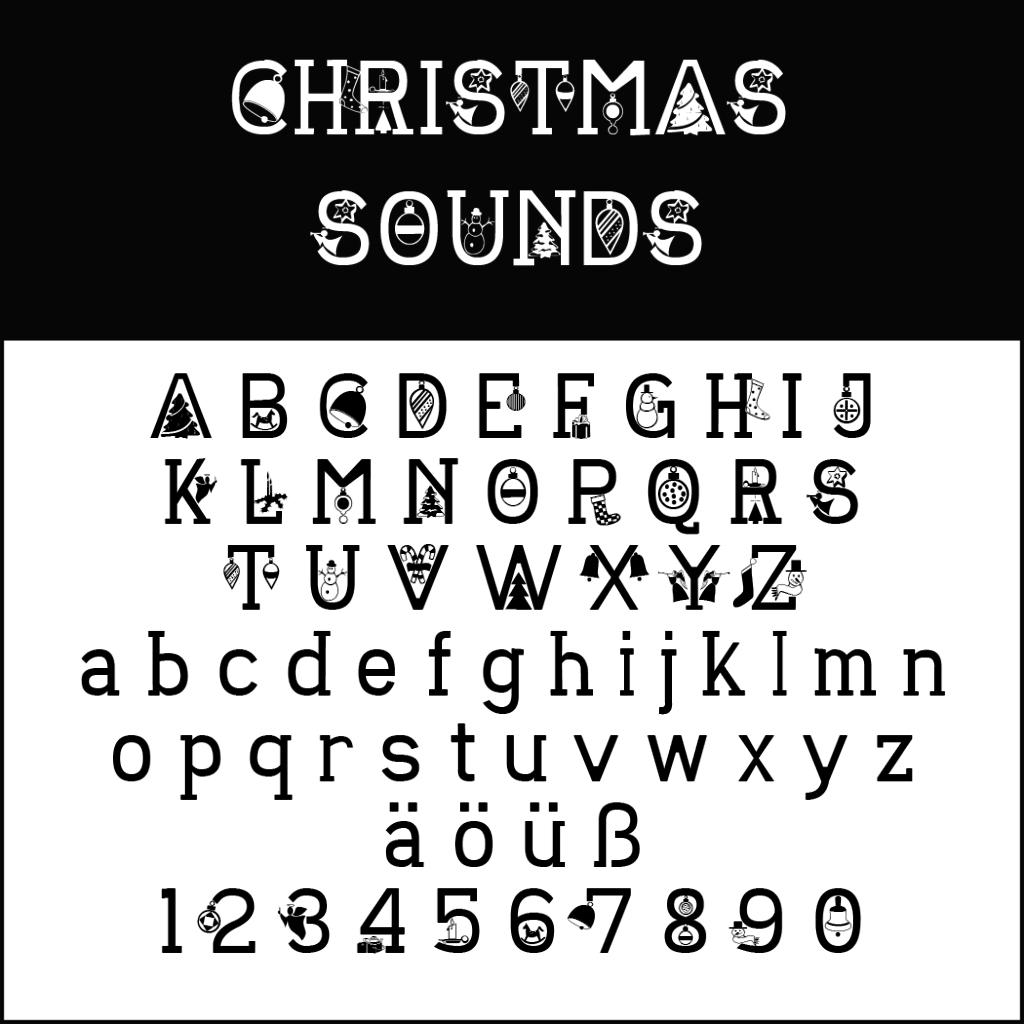 Christmas Fonts: Christmas Sounds