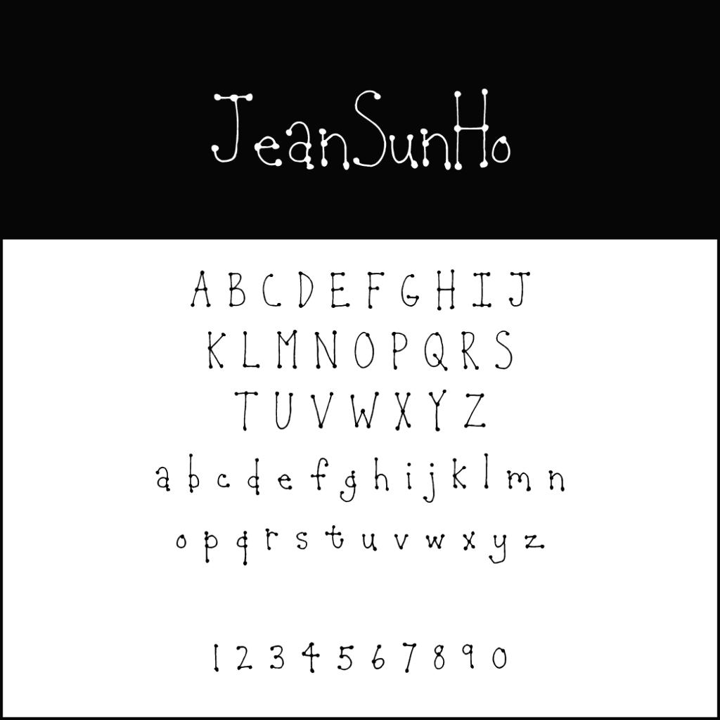 Christmas Fonts: Jeansunho