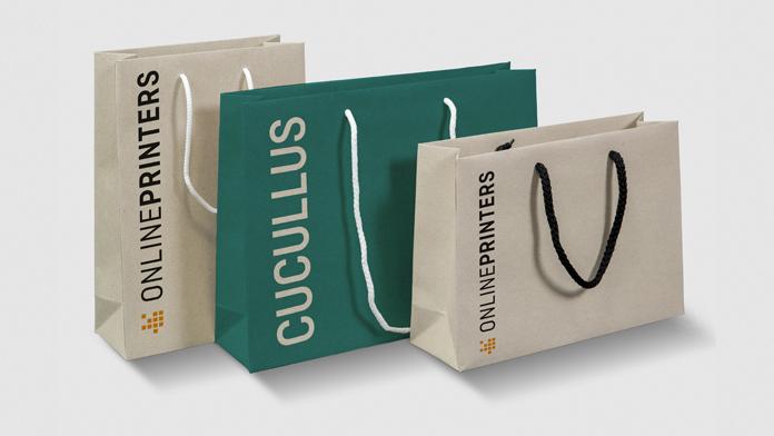Taschen mit Stoffkordelgriffen