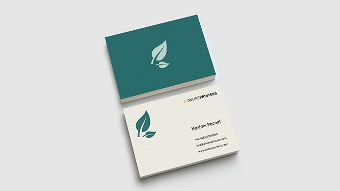 Visitenkarten aus Öko- & Naturpapier