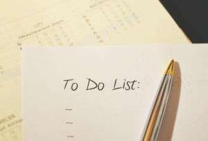 To do Liste für das Krisenmanagement