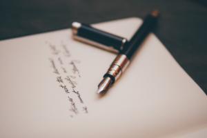 Genesungswünsche Kollegen in Form von einem Brief