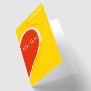 Gute-Besserung-Sprüche auf Genesungskarte