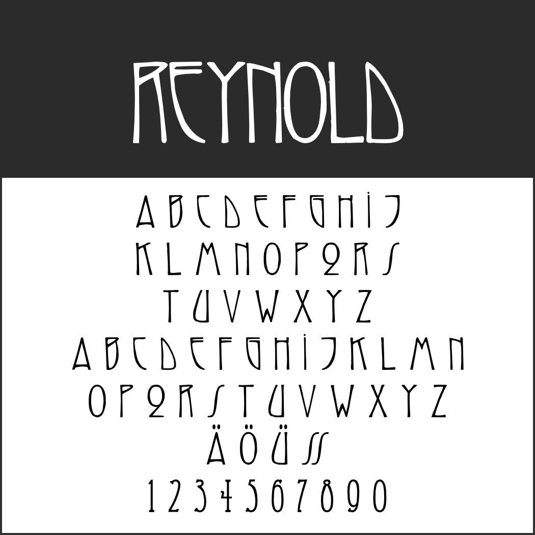 1920er Font: Reynold