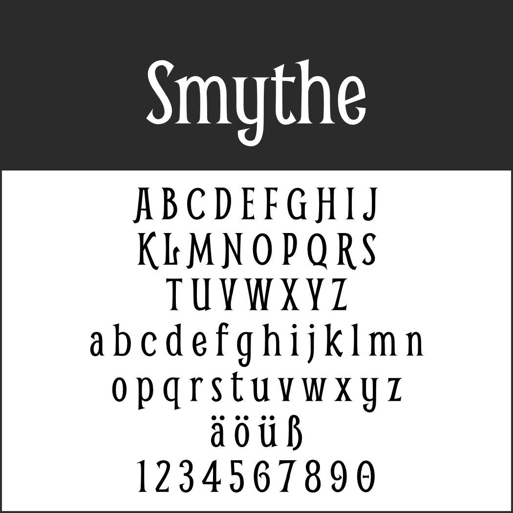 1920er Font: Smythe