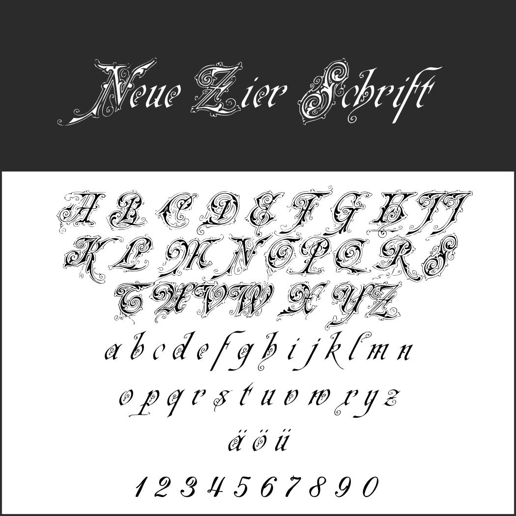 Barock-Schrift