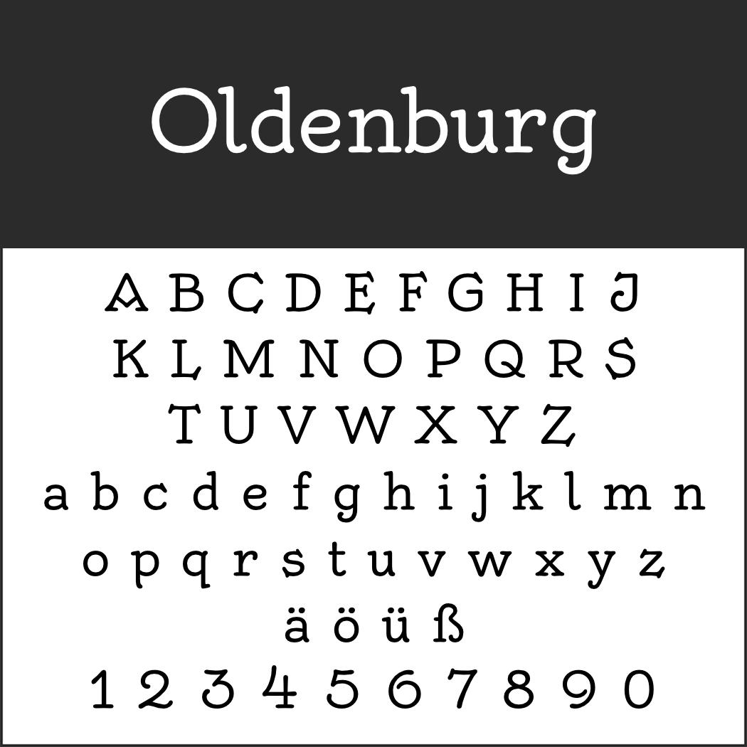 Deutsche Schrift: Oldenburg