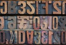 Dicke Schriftarten